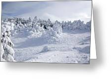 Carter Dome - White Mountains New Hampshire Usa Greeting Card