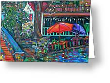 Casa Rio Greeting Card by Patti Schermerhorn