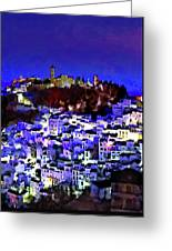 Casares By Night Greeting Card