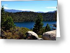 Cascade Lake Greeting Card