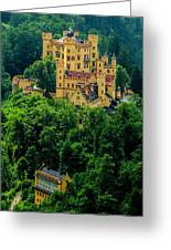 Castle Hohenschwangau Greeting Card