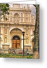Catedral Antigua Guatemala - Guatemala Vii Greeting Card