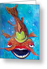 Catfish Clyde Greeting Card