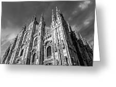 Cathedral Of Milan Greeting Card