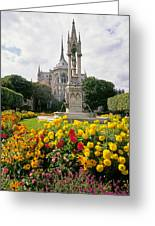Cathedral Of Notre Dame Greeting Card