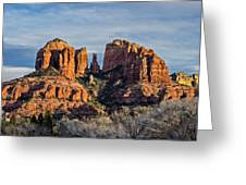 Cathedral Rock, Sedona - 2 Greeting Card