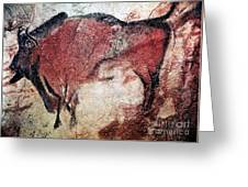 Cave Art Greeting Card