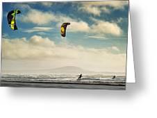 Cefn Sidan Beach 1 Greeting Card