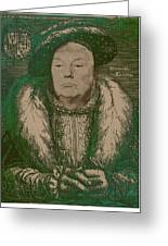 Celebrity Etchings - Donald Trump Greeting Card