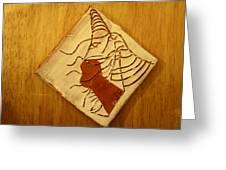 Celia - Tile Greeting Card