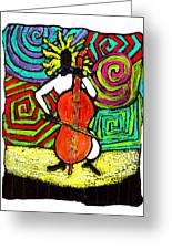 Cello Soloist Greeting Card