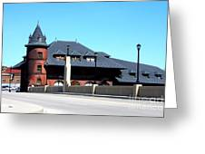Central New Jersey Railroad Station Greeting Card