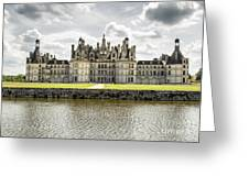 Chambord Castle Greeting Card