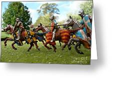 Charge Greeting Card