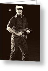Charles Bronson In Raid On Entebbe 1977 Greeting Card