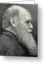 Charles Darwin, English Naturalist Greeting Card