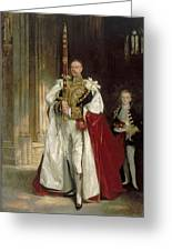 Charles Stewart Sixth Marquess Of Londonderry Greeting Card