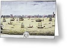 Charleston, S.c., 1739 Greeting Card