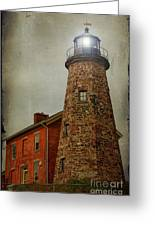 Charlotte Genesee Lighthouse Greeting Card