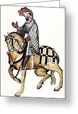 Chaucer: Canterbury Tales Greeting Card