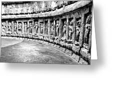 Chausath Yogini Temple Greeting Card