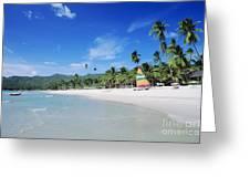 Chaweng Beach Greeting Card