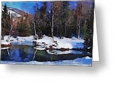 Chena Hot Springs Greeting Card