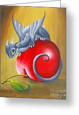 Cherry Dragon Greeting Card
