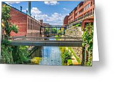 Chesapeake And Ohio Canal Greeting Card