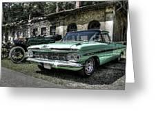 Chevrolet El Camino Greeting Card