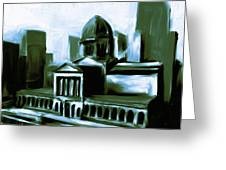 Chicago Federal Building 540 3 Greeting Card