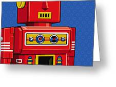 Chief Robot Greeting Card