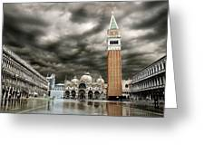Chieso San Marco Greeting Card