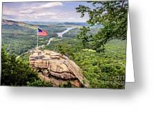 Chimney Rock State Park Greeting Card