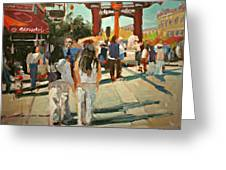 Chinatown Greeting Card