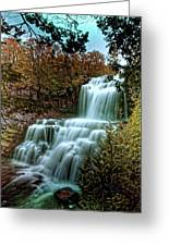 Chittanengo Falls Greeting Card