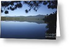 Chocorua Lake - Tamworth New Hampshire Greeting Card