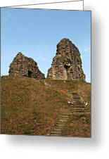 Christchurch Castle Greeting Card