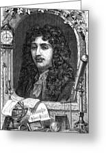 Christiaan Huygens, Dutch Polymath Greeting Card