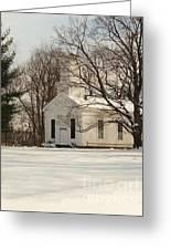 Christmas Church Greeting Card