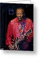Chuck Berry Greeting Card
