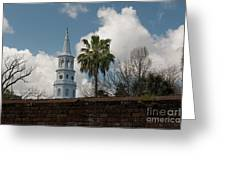 Church Bells Ringing Greeting Card