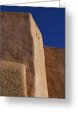 Church Taos Nm Greeting Card