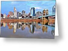 Cincinnati Reflects Greeting Card