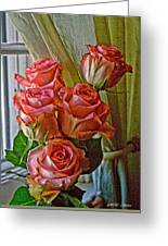 Cindy's Roses Greeting Card