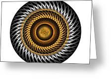 Circle Study No. 318 Greeting Card