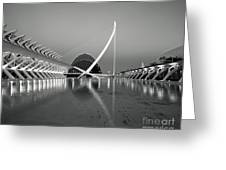 City Of Arts And Sciences Greeting Card