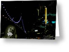 City Of Dreams 2 Greeting Card