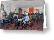 Civil War: Appomattox, 1865 Greeting Card
