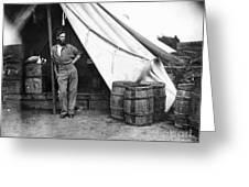Civil War Soldier Greeting Card